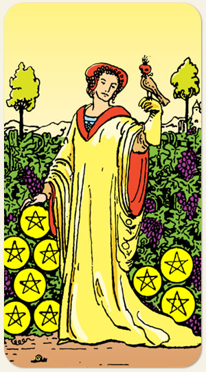 Nine Of Pentacles